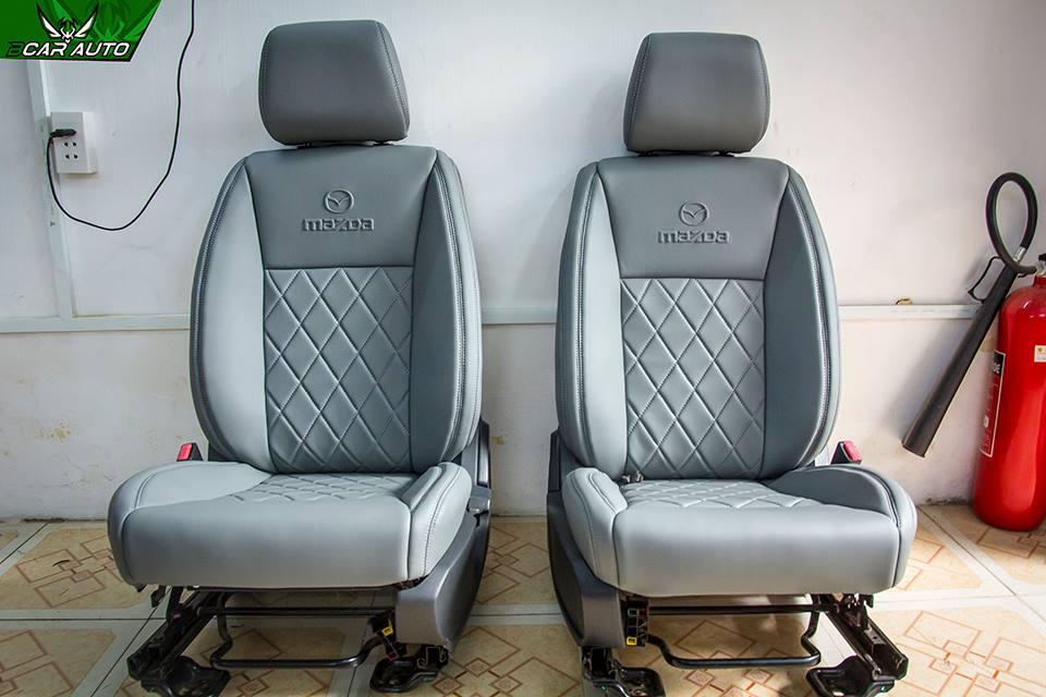 Bọc Ghế Da Xe Mazda BT50