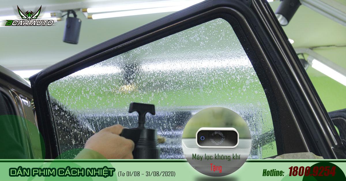 Ưu đãi tháng 8: Dán phim cách nhiệt 3M Crystalline nhậnmáy lọc không khí Airshot Road