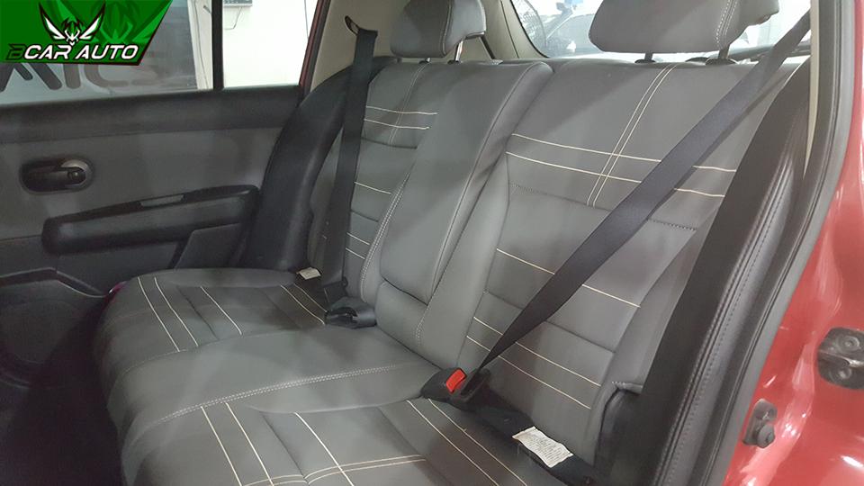 Bọc ghế da xe Nissan Tiida