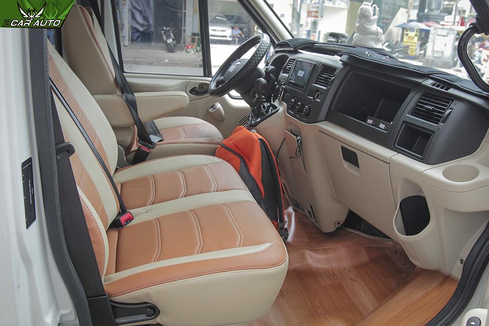 Bọc ghế da xe Ford Transit