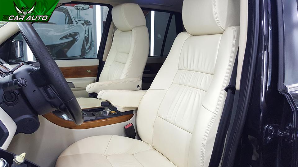 Bọc ghế da xe Range Rover