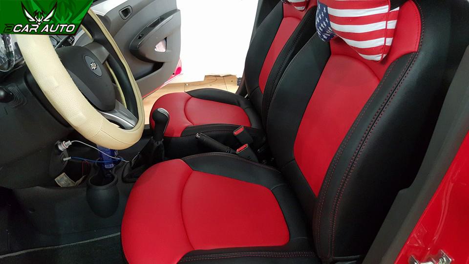 Bọc ghế da xe Chevrolet Spark