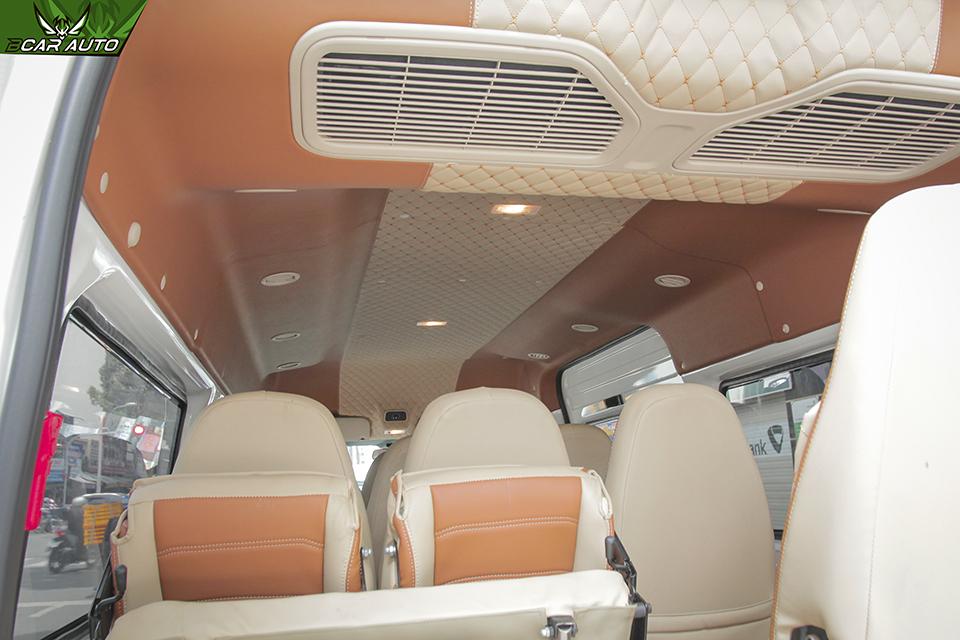 Bọc trần 5D xe Ford Transit
