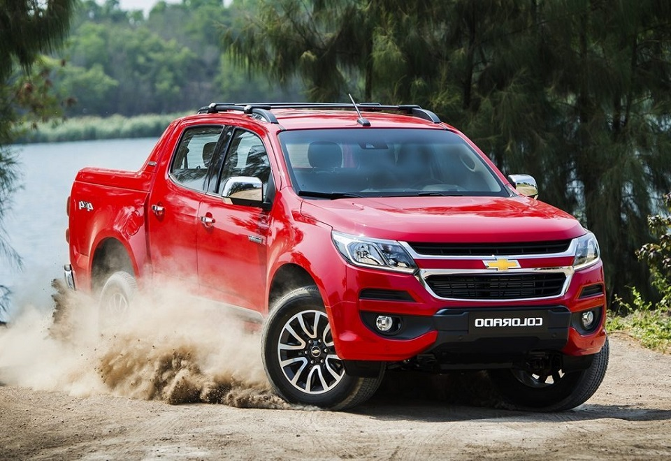 xe chevrolet colorado 2018