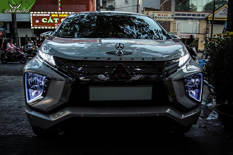 Độ đèn cho xe MitsubishiXpander 2018, 2019