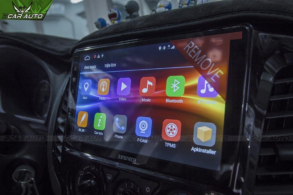 Màn Hình Android Zestech Z500 Chinh Phục Mọi Giới Hạn