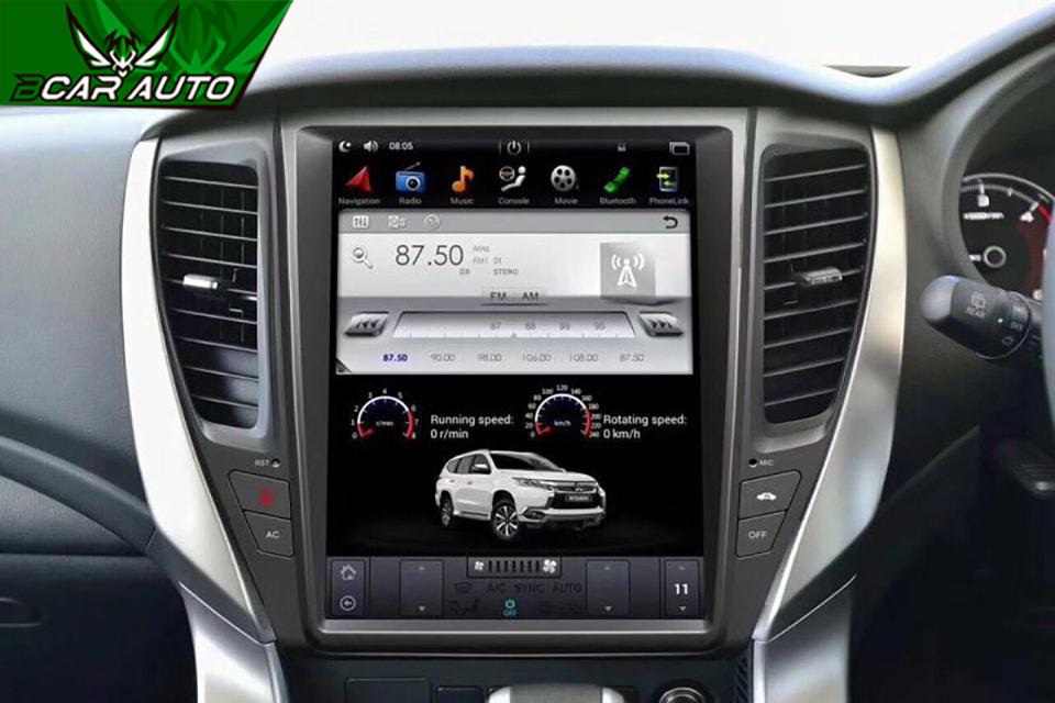 Màn hình DVD xe Mitsubishi Pajero Sport