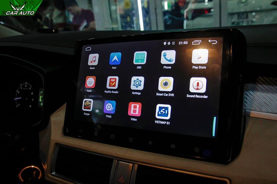 Màn hình DVD xe Mitsubishi Xpander