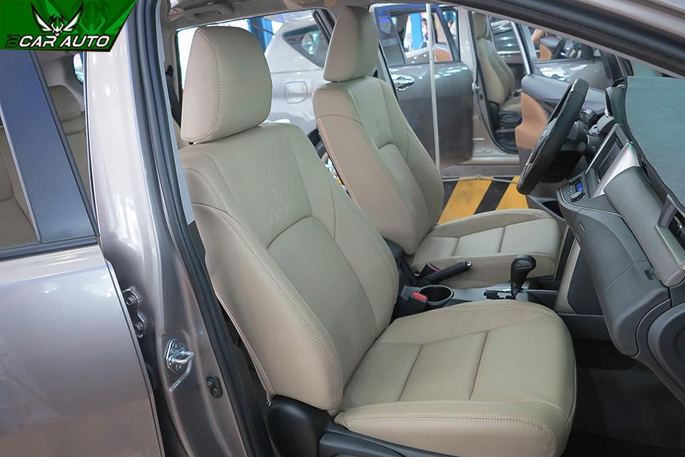 Bọc ghế da xe Innova