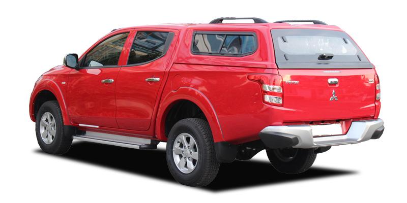 Nắp thùng xe bán tải Mitsubishi Triton