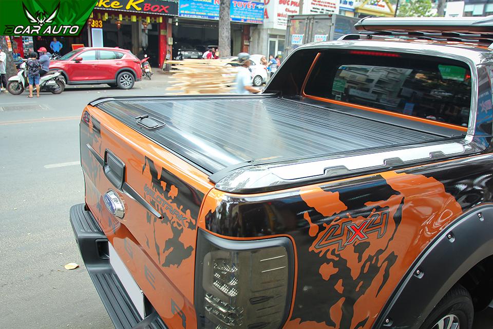 nắp thùng cuộn kcs xe ford ranger