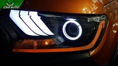 Độ đèn xe Ford Ranger
