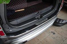 Ốp chống trầy cốp sau xe Pajero Sport