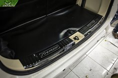 Ốp chống trầy cốp sau xe Xpander