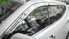 Viền che mưa xe Hyundai Santafe